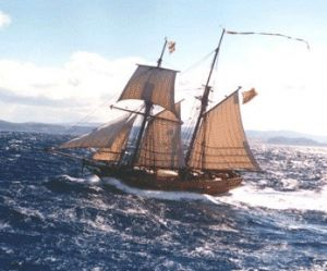 Enterprize - Melbourne's Tall Ship - Broome Tourism